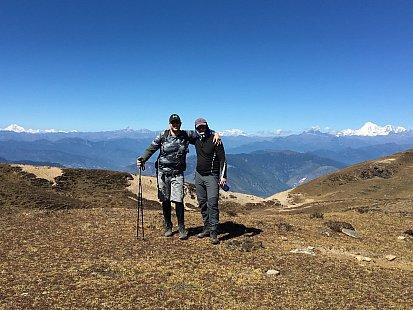 Roman a Zdeněk on Dagala trek