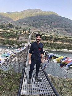 Camilo in Punakha