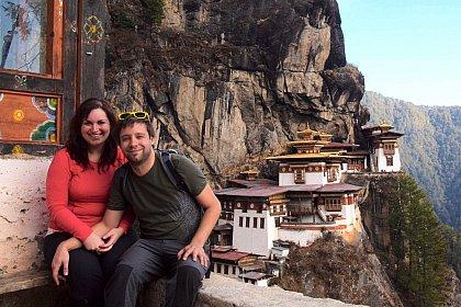 Veronika and Karel before Tiger's Nest