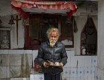Hindu hermit in Dewathang