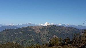 Jomolhari peak from Dagala