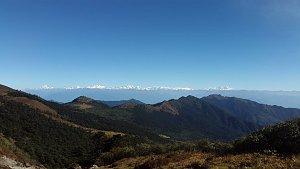 Mountain panorama from Dagala