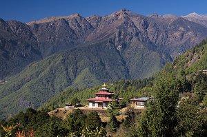 Ugyen Tsemo temple above Tiger's Nest