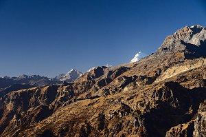 Jomolhari summit as seen from Bumdrak viewpoint