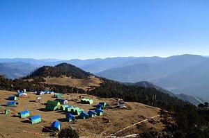 Bumdrak campsite