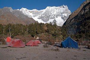 Camping at Limithang