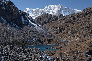 Great Tiger Mountain from Laya