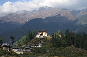 Drukgyal dzong in Paro
