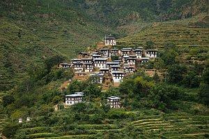 Rinchengang village, Wangdue