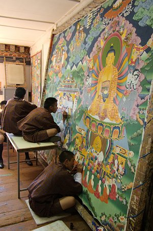 School of traditional arts in Thimphu