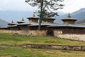 Near Wangduecholing, Bumthang
