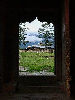 In Wangduecholing Palace, Jakar