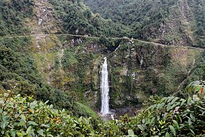 Namling waterfall