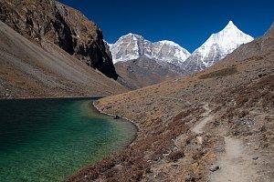 Jiychu Drakye from Tshophu lakes