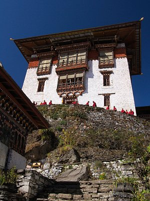 Gasa dzong tower