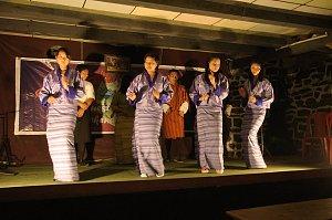 Drayang dancing in Jakar