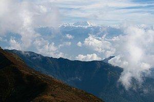 Gangkhar Punesum view, Dagala Trek