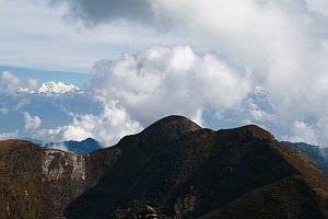 Mountain views, Dagala Trek