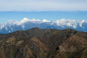 Jomolhari range view, Dagala Trek