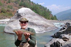 Fishing in Bhutan