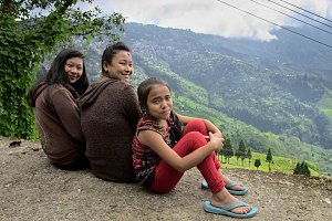 Darjeeling girls