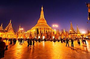 Schwedagon Pagoda, Yangon
