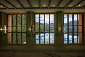 Bhutan Spirit Sanctuary pool