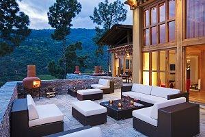 Uma Punakha, Terrace