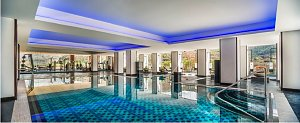 Le Meridien Riverfront, indoor pool