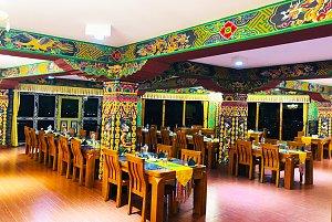 RKPO Green Resort dining view