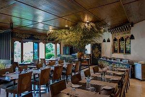 Metta Resort -dining hall