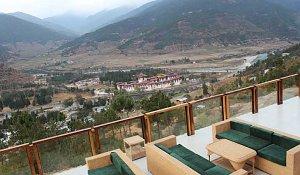 Zhingkham Resort, terrace