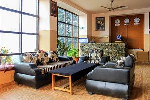 Damphu Resort, reception