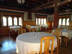 Gongkhar Guest House, restaurant
