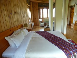 Gongkhar Guest House, deluxe room