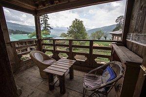 Ogyen Choling Heritage House, balcony