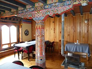 Yue Loki Guest House, dining