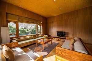 Soute living room in Terma Linca