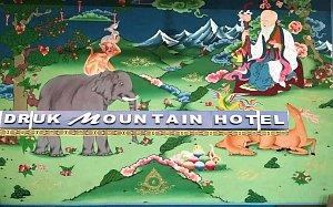 Druk Mountain Hotel, lobby decoration