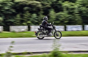 Motorbikes in Bhutan