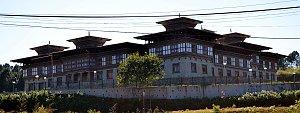 Tsirang dzong in Damphu