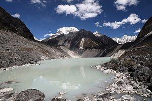 Upper Taritso Lake, Snowman Trek
