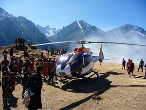 Landing in Lunana