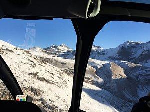 Heading to mountain tops