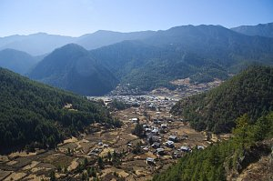 Haa valley from Kathso gompa