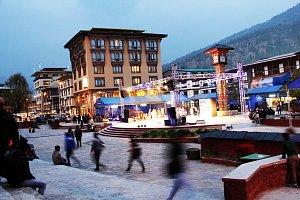 Thimphu Towers on Clocktower square