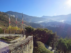 Trongsa Resort, view