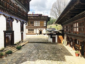 Ogyen Choling Heritage House, courtyard