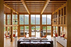Lounge at Uma, Punakha