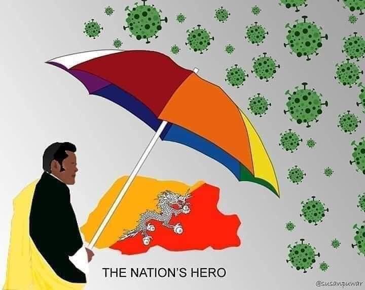 Bhutanese King protecting country from coronavirus